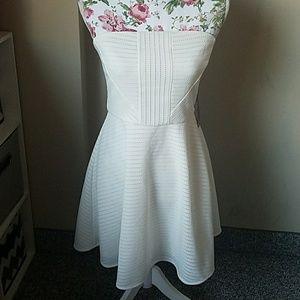 Express strapless dress NWT beach wedding